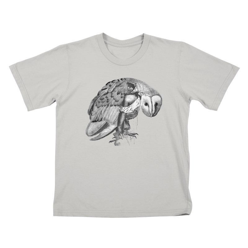 These Eyes Kids T-Shirt by Wild Roots Artist Shop