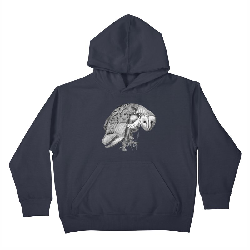 These Eyes Kids Pullover Hoody by Wild Roots Artist Shop