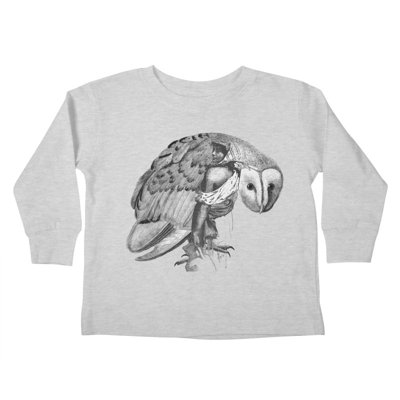 These Eyes Kids Toddler Longsleeve T-Shirt by Wild Roots Artist Shop