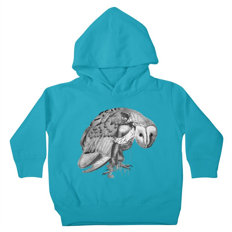 These Eyes Kids Toddler Pullover Hoody by Wild Roots Artist Shop
