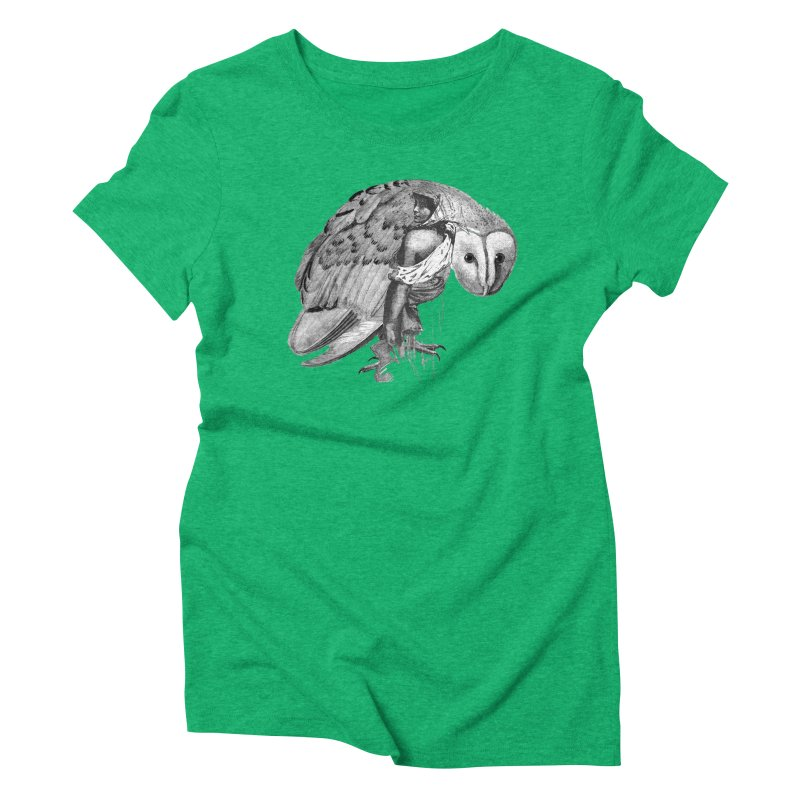 These Eyes Women's Triblend T-shirt by Wild Roots Artist Shop