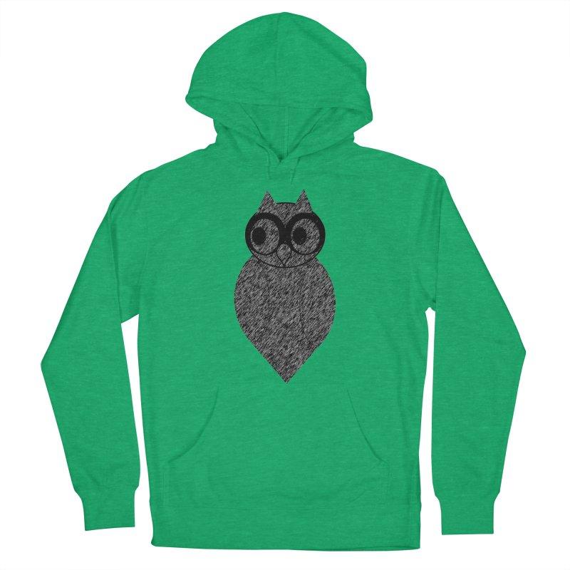 Hoot Men's Pullover Hoody by Wild Roots Artist Shop