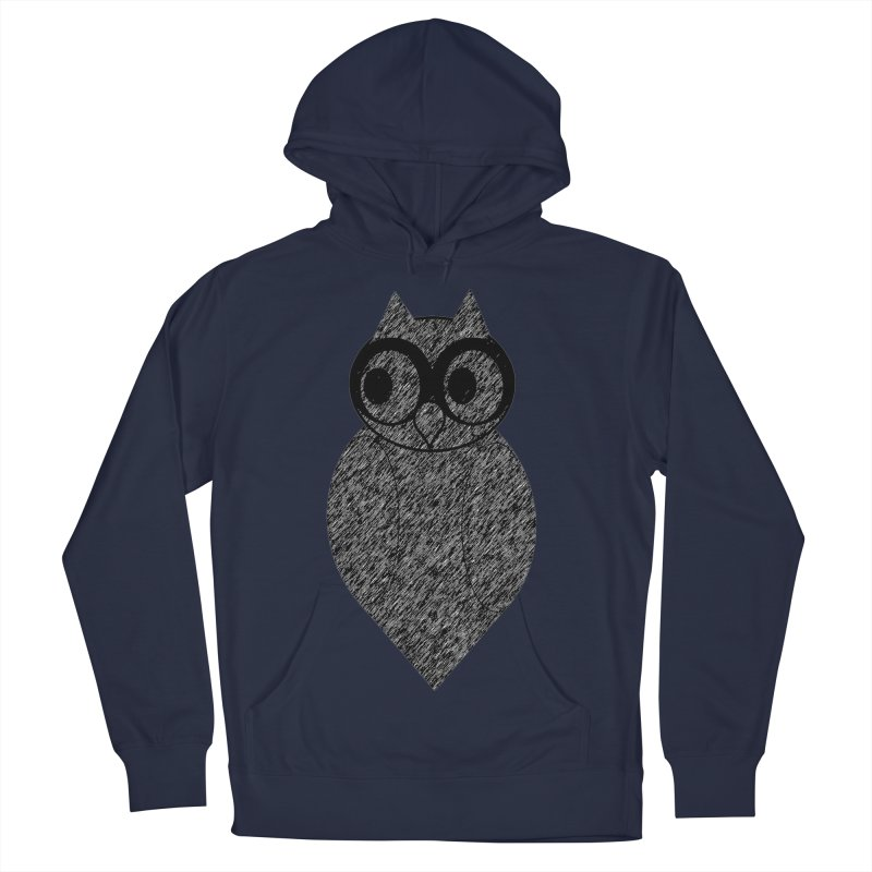 Hoot Women's French Terry Pullover Hoody by Wild Roots Artist Shop