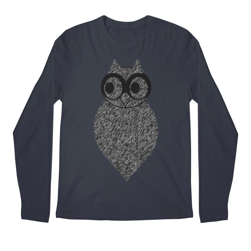 Hoot Men's Regular Longsleeve T-Shirt by Wild Roots Artist Shop