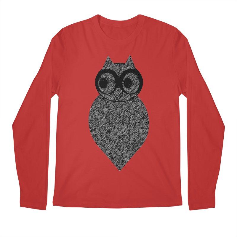 Hoot Men's Regular Longsleeve T-Shirt by Wild Roots Artist Shop
