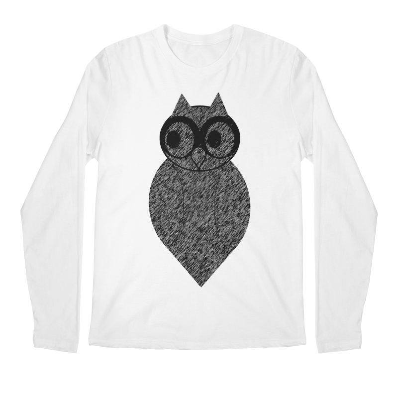 Hoot Men's Longsleeve T-Shirt by Wild Roots Artist Shop