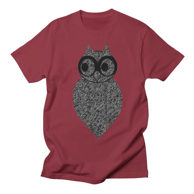 Hoot Men's T-Shirt by Wild Roots Artist Shop