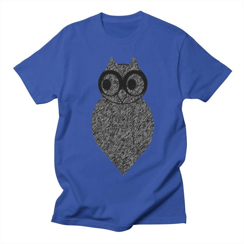 Hoot Women's Regular Unisex T-Shirt by Wild Roots Artist Shop