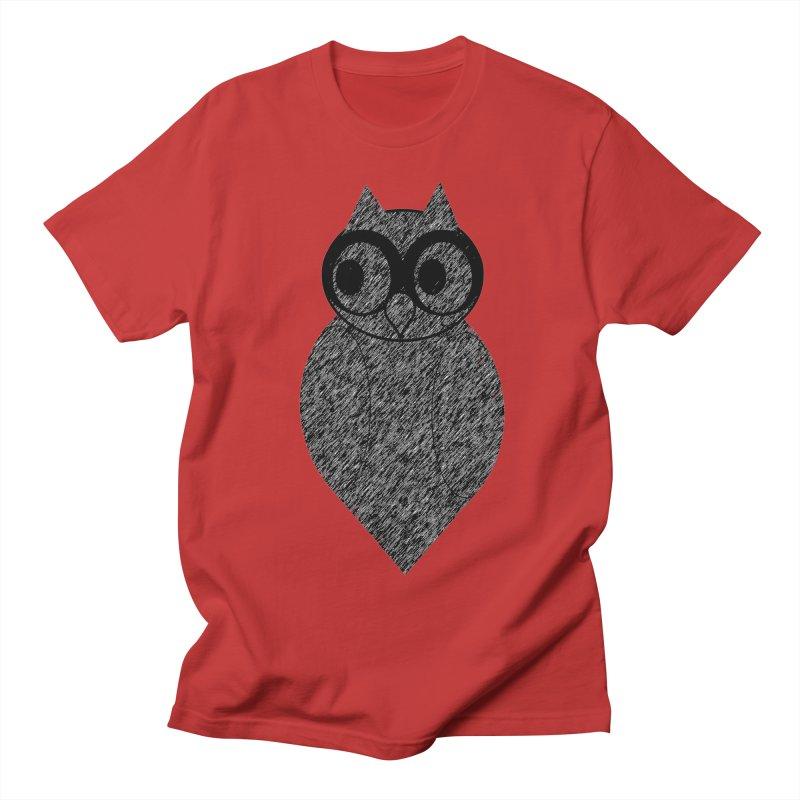 Hoot Men's Regular T-Shirt by Wild Roots Artist Shop