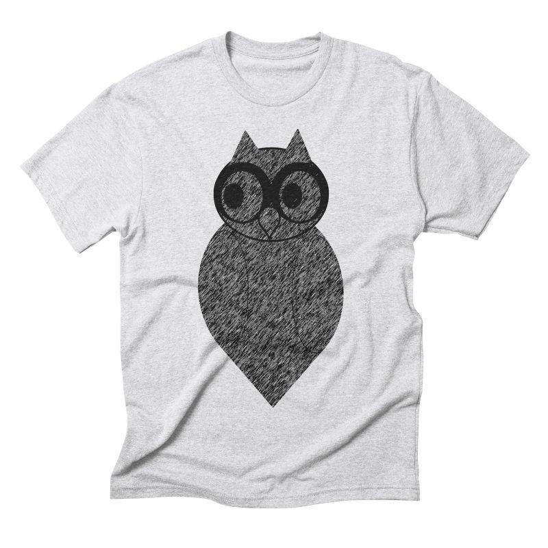 Hoot Men's Triblend T-Shirt by Wild Roots Artist Shop