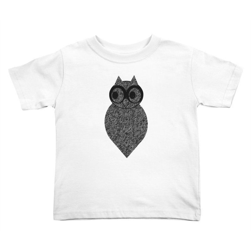 Hoot Kids Toddler T-Shirt by Wild Roots Artist Shop