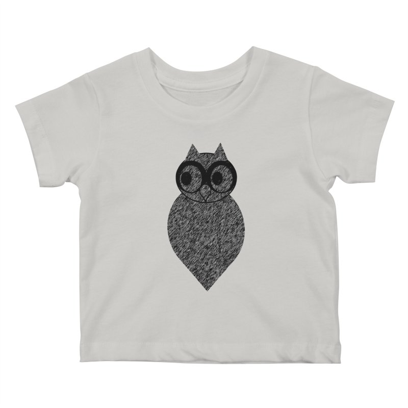 Hoot Kids Baby T-Shirt by Wild Roots Artist Shop