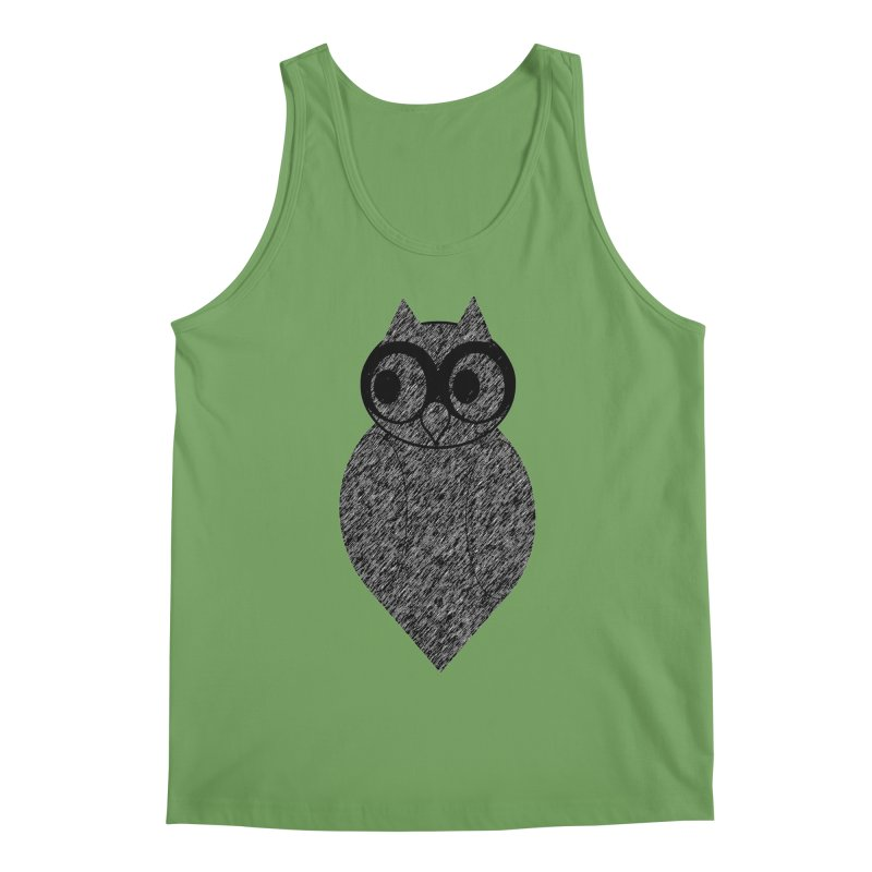 Hoot Men's Tank by Wild Roots Artist Shop