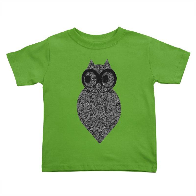 Hoot Kids Toddler T-Shirt by Wild Roots Artist Shop