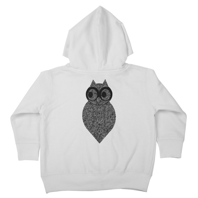 Hoot Kids Toddler Zip-Up Hoody by Wild Roots Artist Shop