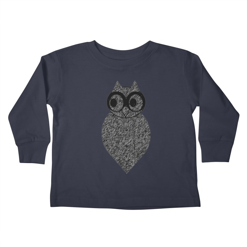 Hoot Kids Toddler Longsleeve T-Shirt by Wild Roots Artist Shop