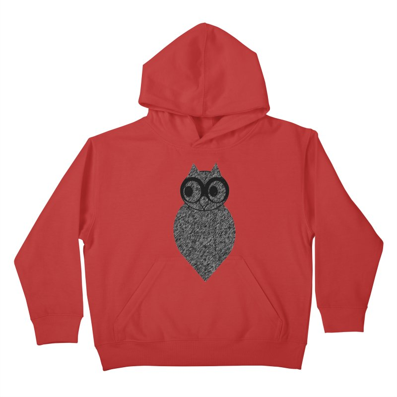 Hoot Kids Pullover Hoody by Wild Roots Artist Shop