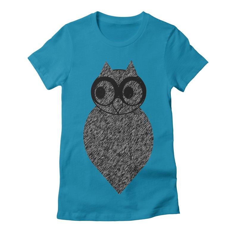 Hoot Women's T-Shirt by Wild Roots Artist Shop