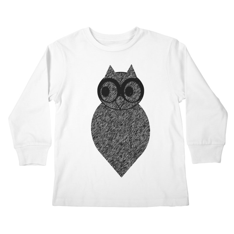 Hoot Kids Longsleeve T-Shirt by Wild Roots Artist Shop