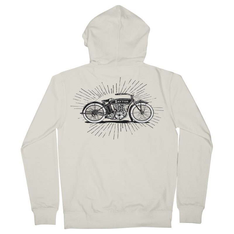 Ready To Roost Men's Zip-Up Hoody by Wild Roots Artist Shop