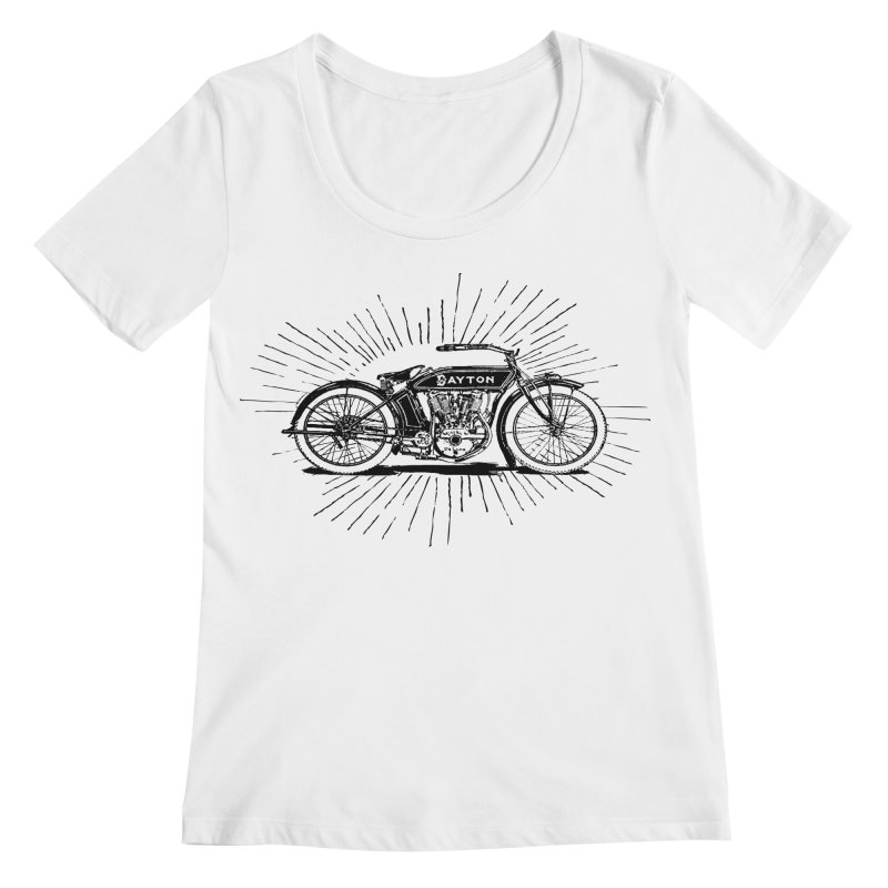 Ready To Roost Women's Regular Scoop Neck by Wild Roots Artist Shop