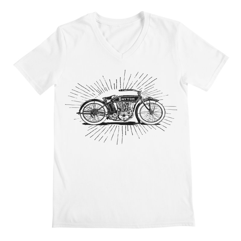 Ready To Roost Men's V-Neck by Wild Roots Artist Shop
