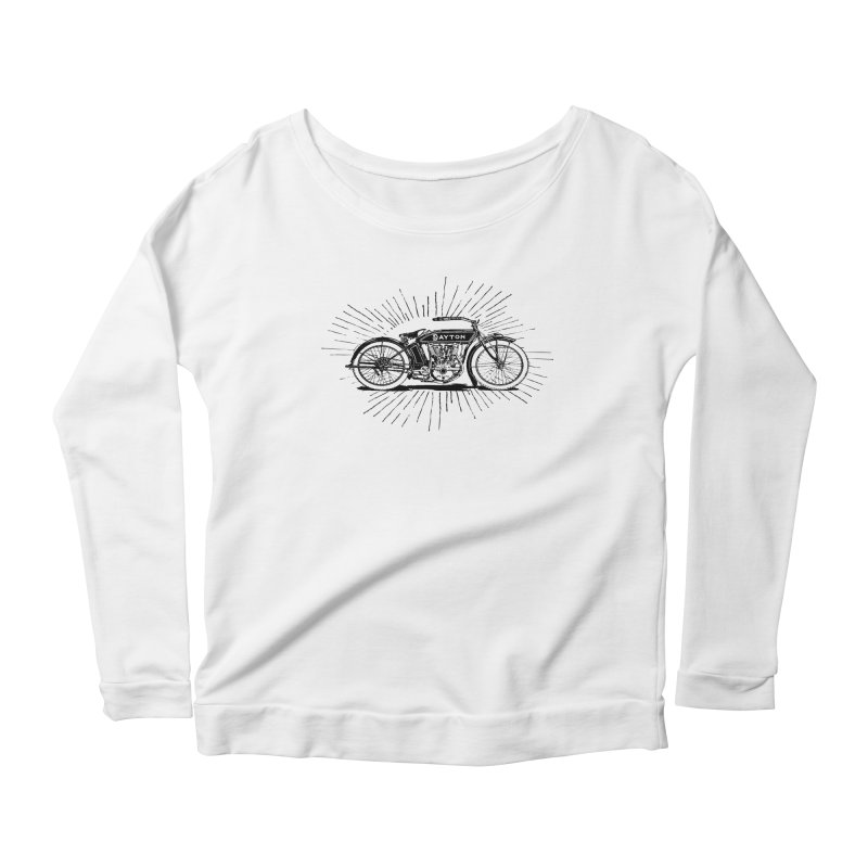 Ready To Roost Women's Scoop Neck Longsleeve T-Shirt by Wild Roots Artist Shop