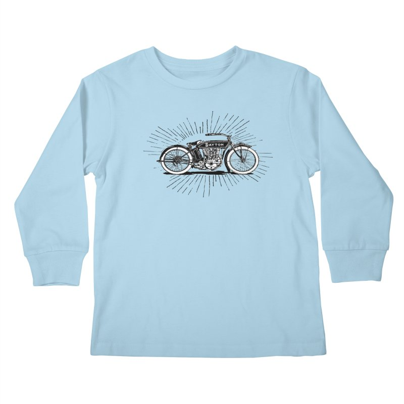 Ready To Roost Kids Longsleeve T-Shirt by Wild Roots Artist Shop