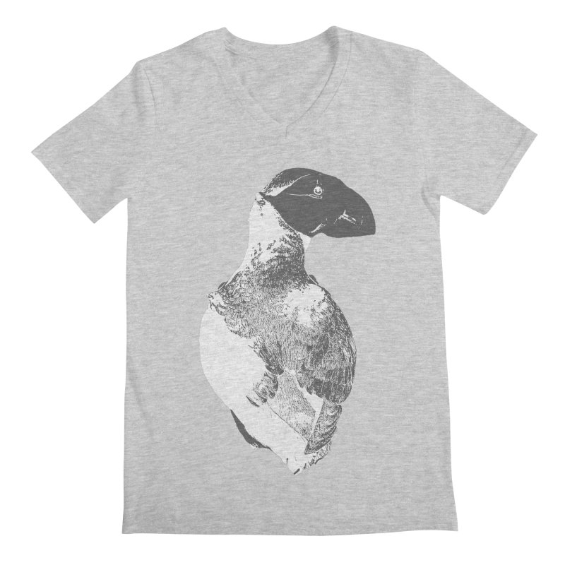 Canadiana Men's V-Neck by Wild Roots Artist Shop