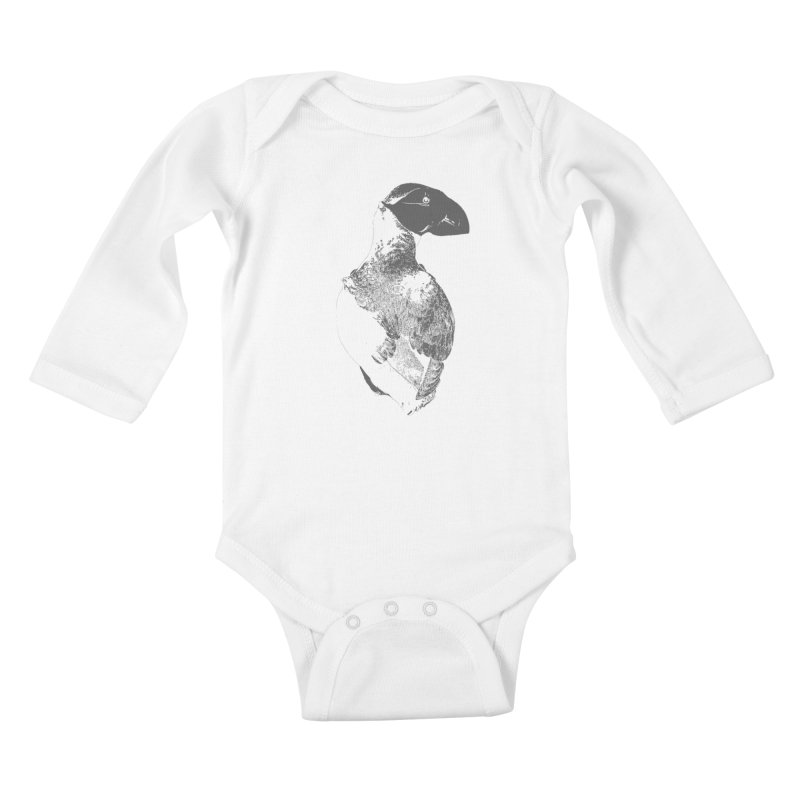 Canadiana Kids Baby Longsleeve Bodysuit by Wild Roots Artist Shop
