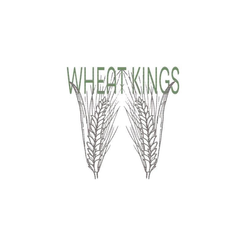 Wheat Kings Men's Zip-Up Hoody by Wild Roots Artist Shop