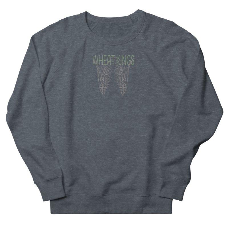 Wheat Kings Women's Sweatshirt by Wild Roots Artist Shop