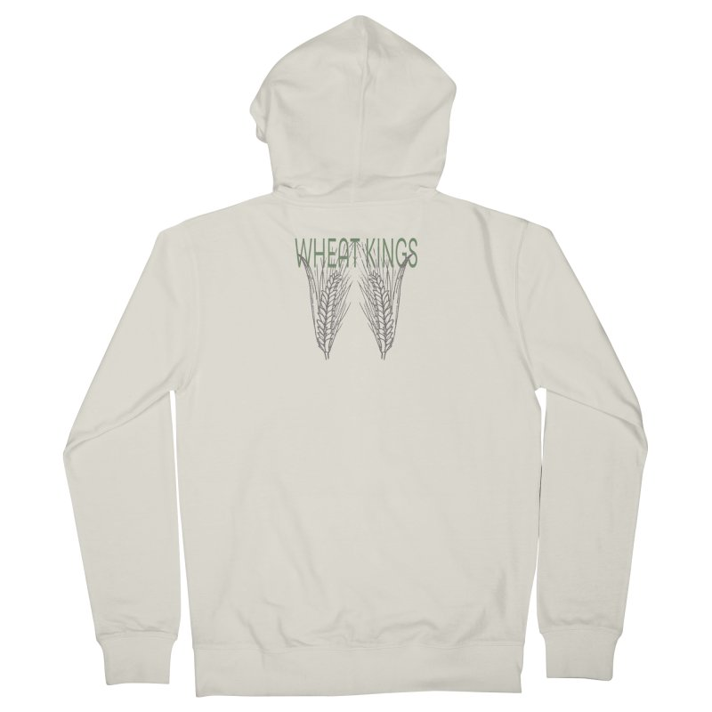 Wheat Kings Men's Zip-Up Hoody by Wild Roots Artist Shop