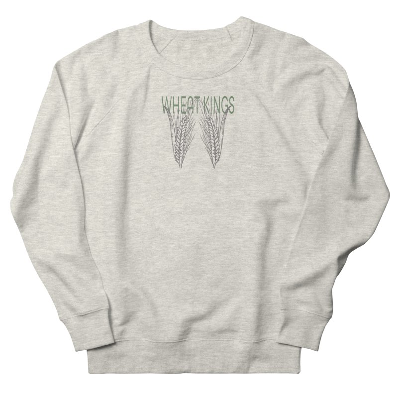 Wheat Kings Women's Sweatshirt by Wild Roots Artist Shop