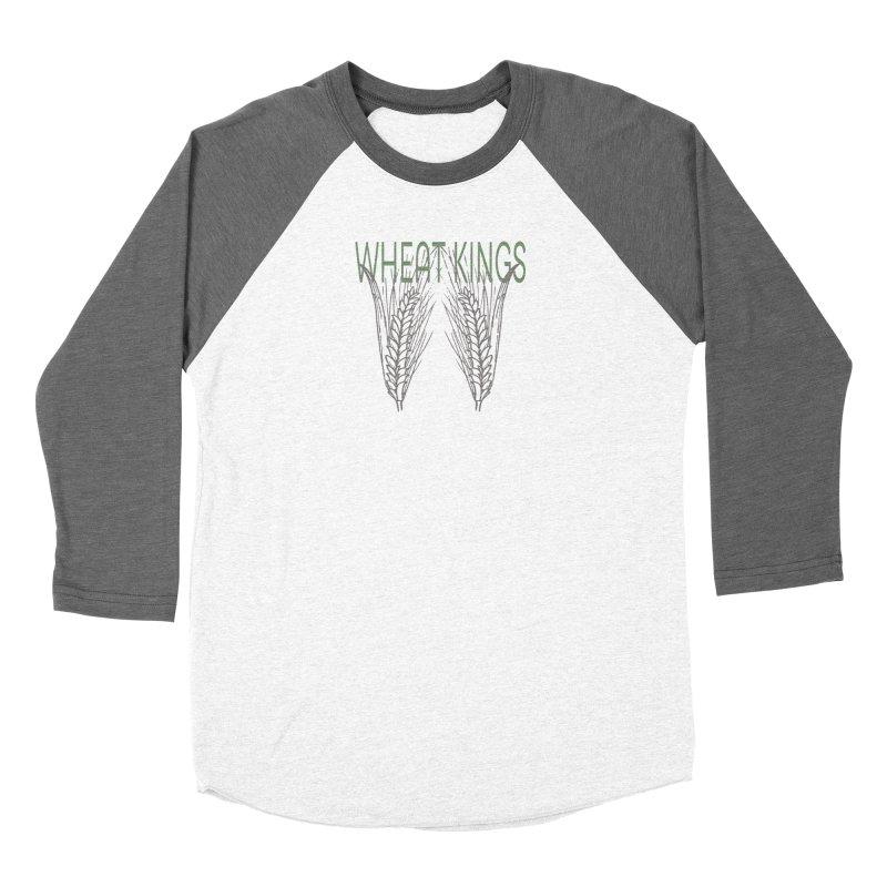 Wheat Kings Women's Baseball Triblend T-Shirt by Wild Roots Artist Shop