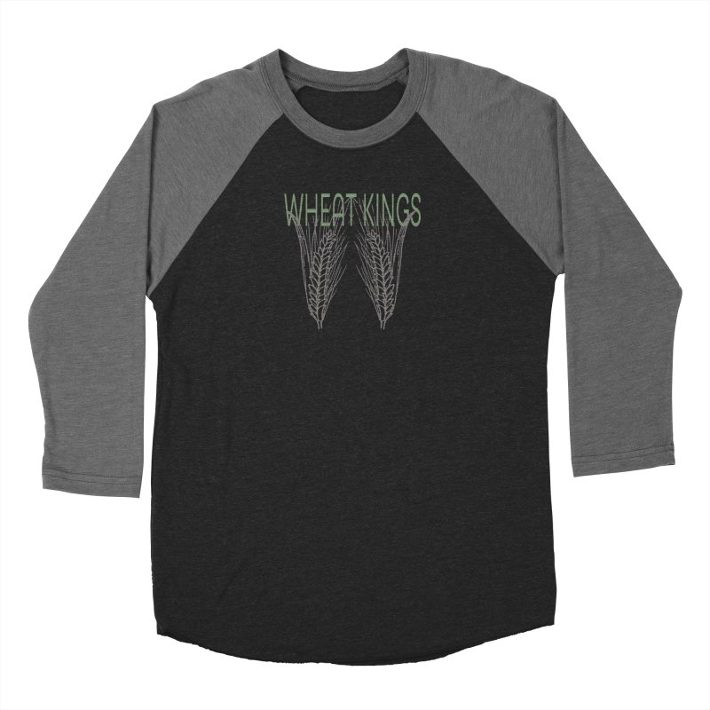 Wheat Kings Women's Baseball Triblend Longsleeve T-Shirt by Wild Roots Artist Shop