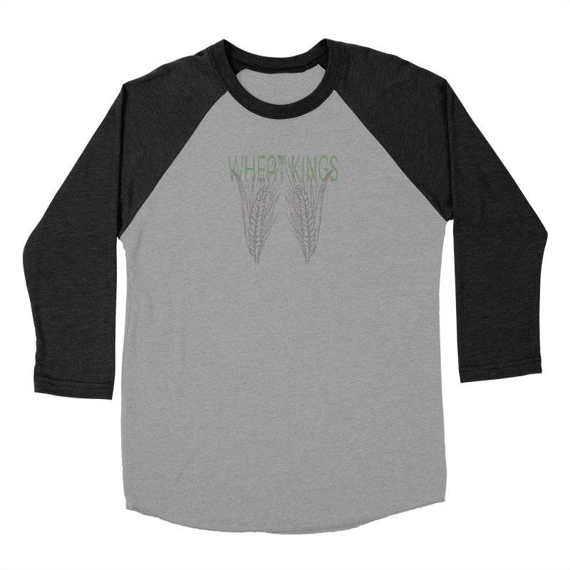 Wheat Kings Men's Baseball Triblend T-Shirt by Wild Roots Artist Shop