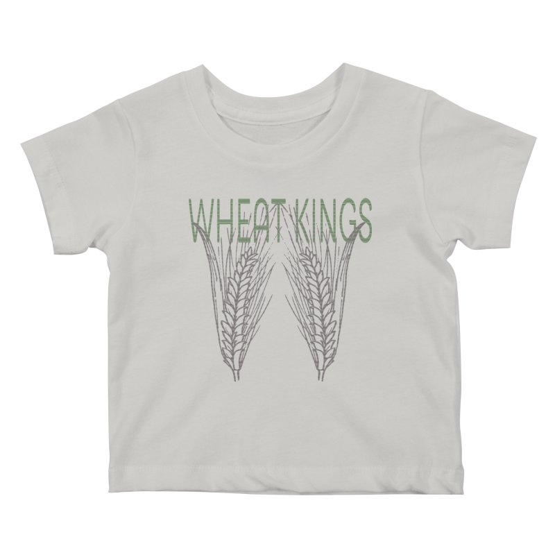 Wheat Kings Kids Baby T-Shirt by Wild Roots Artist Shop