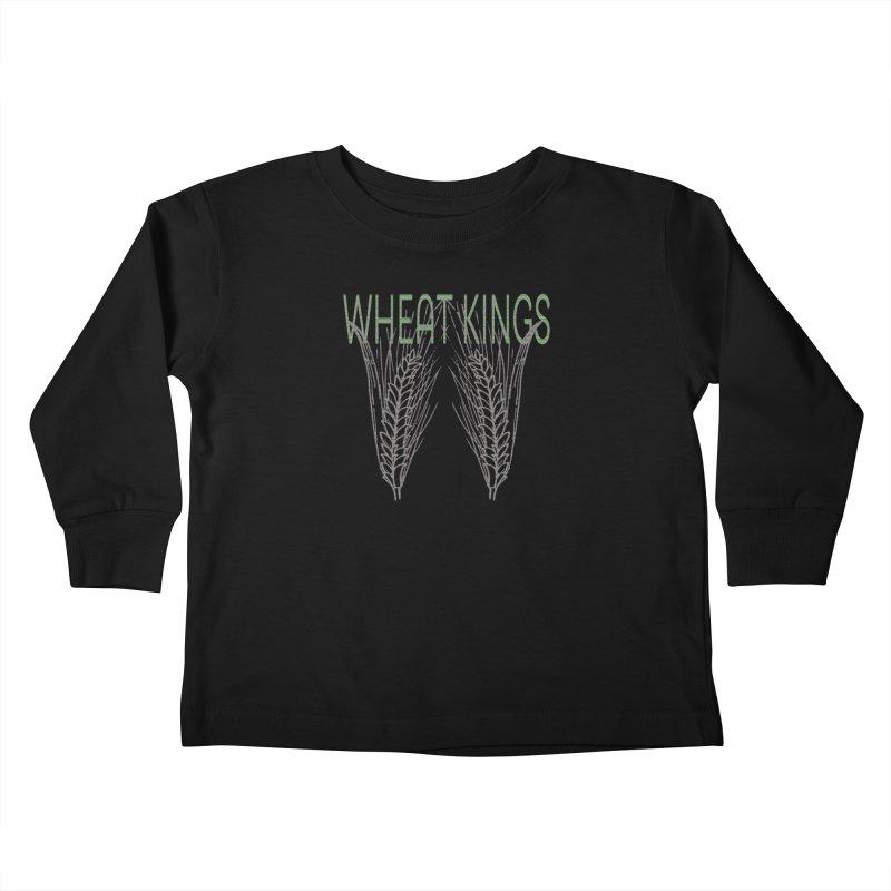 Wheat Kings Kids Toddler Longsleeve T-Shirt by Wild Roots Artist Shop