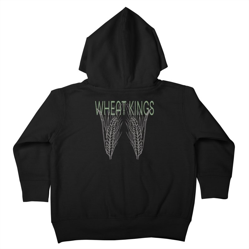 Wheat Kings Kids Toddler Zip-Up Hoody by Wild Roots Artist Shop
