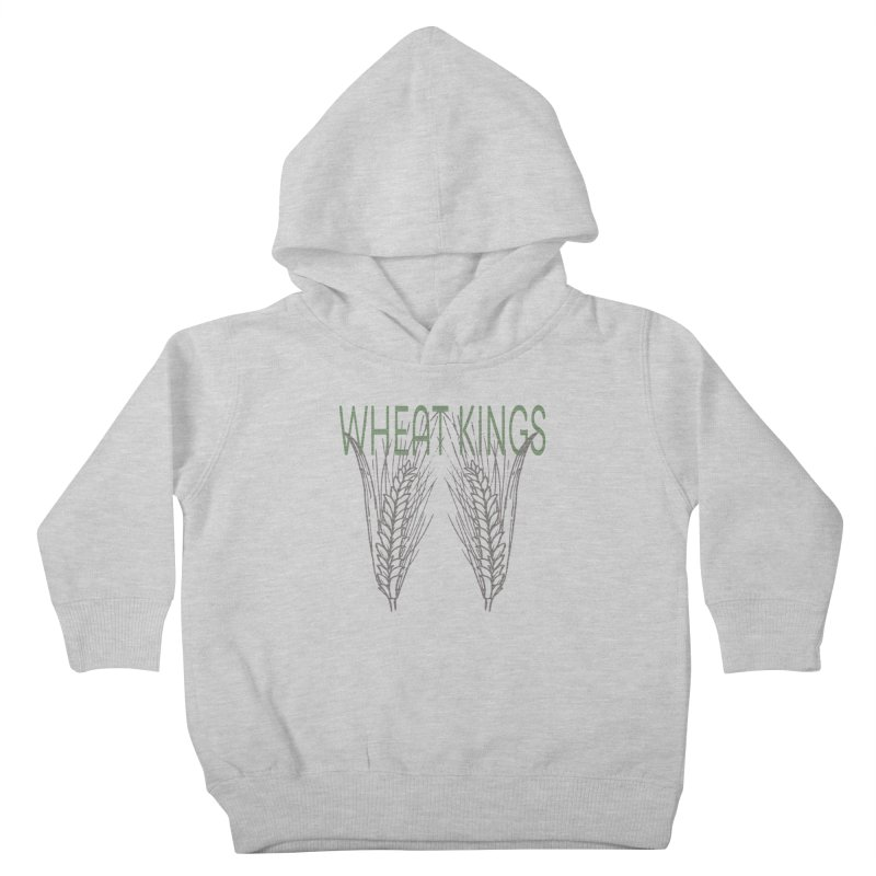 Wheat Kings Kids Toddler Pullover Hoody by Wild Roots Artist Shop