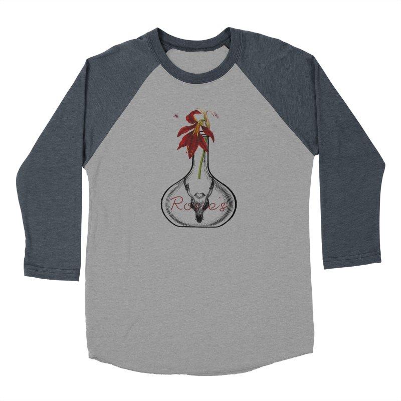 Rosie's Women's Baseball Triblend T-Shirt by Wild Roots Artist Shop