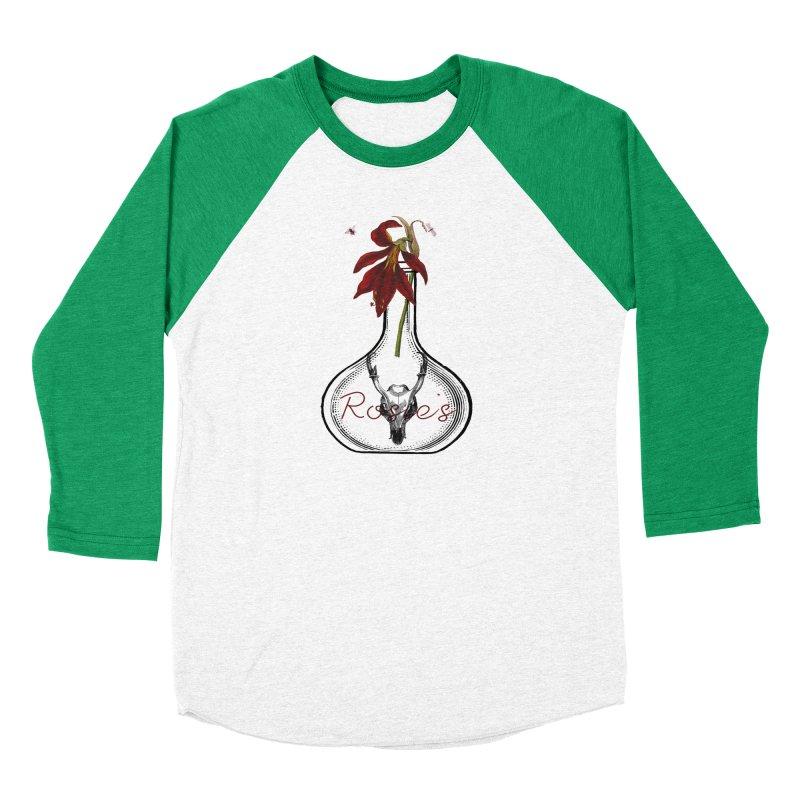 Rosie's Men's Baseball Triblend T-Shirt by Wild Roots Artist Shop