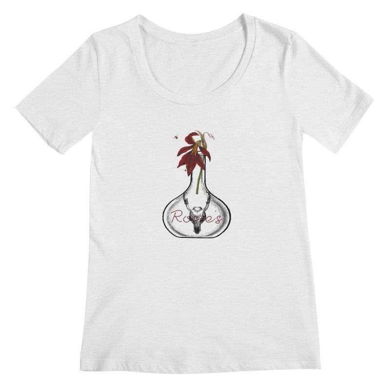 Rosie's Women's Scoopneck by Wild Roots Artist Shop