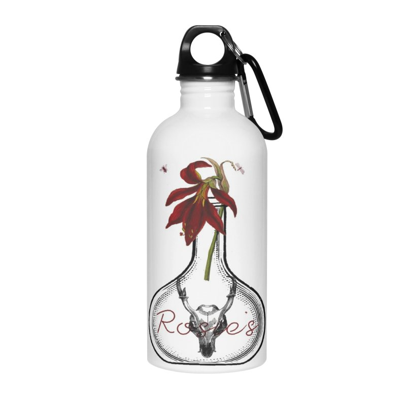 Rosie's Accessories Water Bottle by Wild Roots Artist Shop