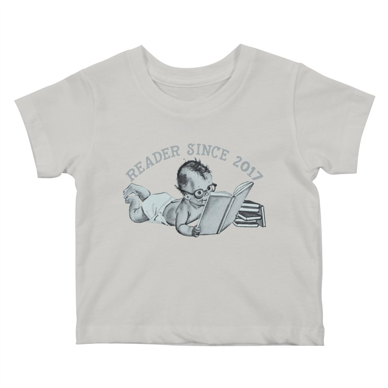 Future Reader Kids Baby T-Shirt by Wild Roots Artist Shop