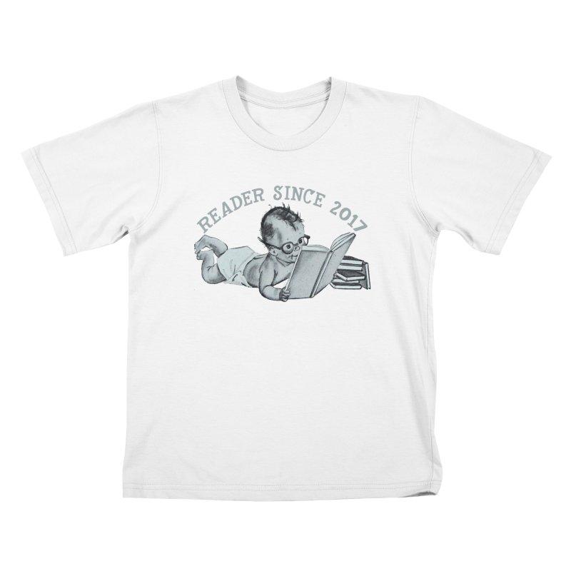 Future Reader Kids T-Shirt by Wild Roots Artist Shop