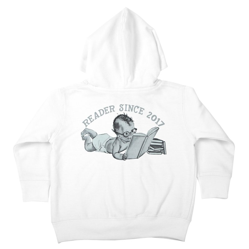 Future Reader Kids Toddler Zip-Up Hoody by Wild Roots Artist Shop