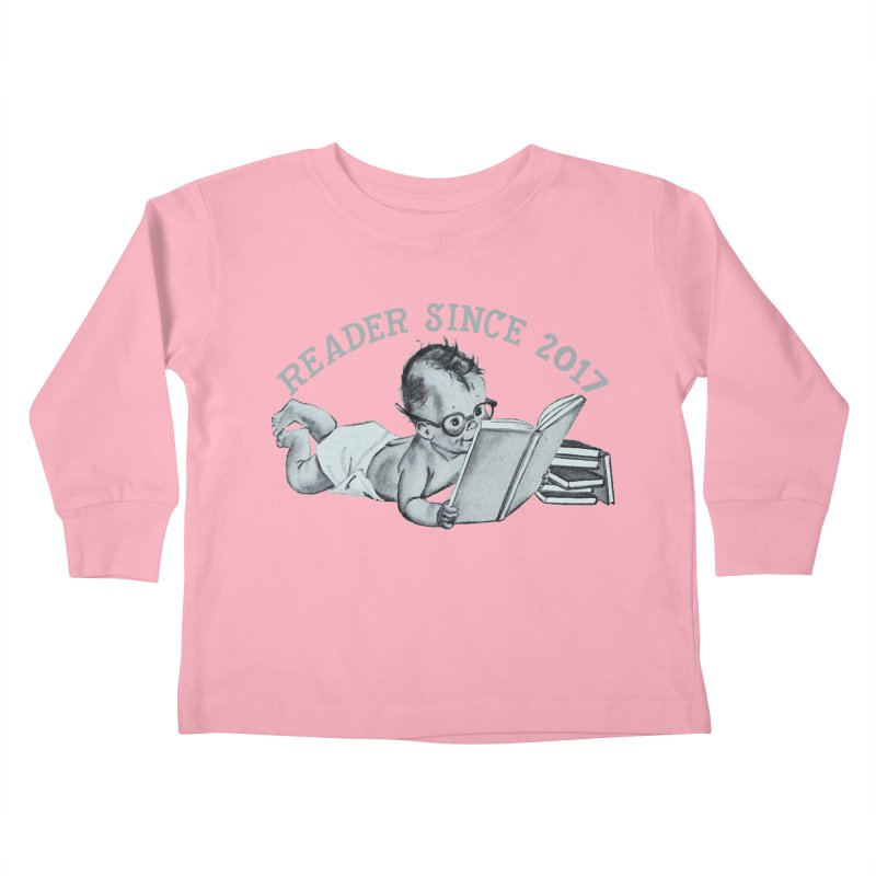 Future Reader Kids Toddler Longsleeve T-Shirt by Wild Roots Artist Shop