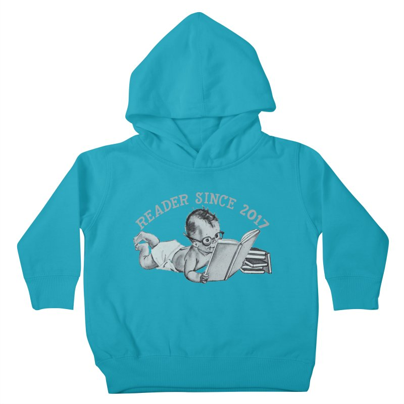 Future Reader Kids Toddler Pullover Hoody by Wild Roots Artist Shop